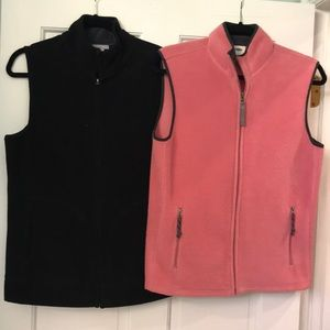 Old Navy fleece vests-2 for the price of 1